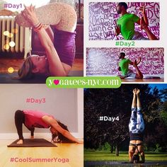 #CoolSummerYoga Challenge Post all 4 poses by midnight tonight on IG for a chance to win a Bamboo Namaste Tank! IT'S NOT TOO LATE!!!!!!