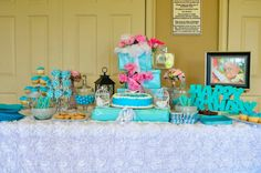 Dessert table.  Tete and Co.