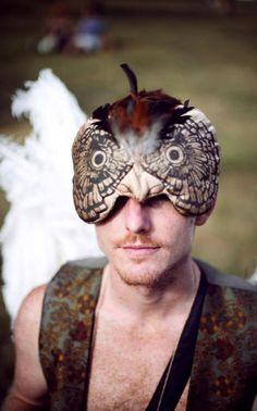 Image result for owl headdress