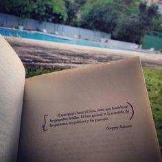 Entre libros y naturaleza !! Vida!!