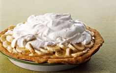 Banoffee Pie: Banana, Toffee & Whipped Cream !