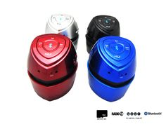 Altavoz Portátil Mini Inalambrico Con Bluetooth, Radio, MicroSD, USB y Con Batería Recargable - https://complementoideal.com/producto/audios/altavoz-mini-con-bluetooth-radio-microsd-8675/  - Altavoz Mini Con Bluetooth con Radio y MicroSD   Además con el Altavoz Mini Con Bluetooth podrás disfrutar de todas las emisoras de la Radio FM para que no te pierdas tus programas favoritos. El Altavoz Mini Con Bluetooth es compatible con tarjetas SD, MicroSD , reproduce