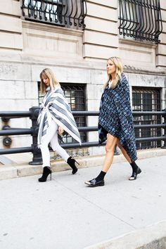 DIY: How to make your own chic blanket coat for fall