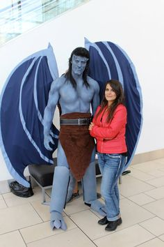 Goliath and Elisa Cosplay from Gargoyles at DCC by PhoenixForce85.deviantart.com