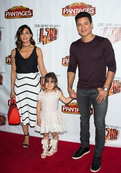 Pin for Later: Mario Lopez's Little Girl Is Just Too Cute For Words on the Red Carpet