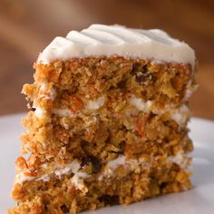 The snack is a topic that is talking about nutrition. Is it really necessary to have a snack? A snack is not a bad choice, but you have to know how to choose it properly. The snack must provide both… Continue Reading → Food Cakes, Cupcake Cakes, Moist Carrot Cakes, Best Carrot Cake, Carrot Cake Recipe Food Network, Carrot Pineapple Cake, Carrot And Walnut Cake, Hardboiled, Dessert