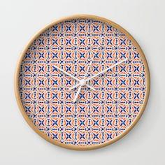 Floic #3 (By Salomon) #print #lamina #clock #frame #decor #decoration #decoracion #interior #home #wall #casa #frame #pattern #mosaic #mosaico #society6 @society6