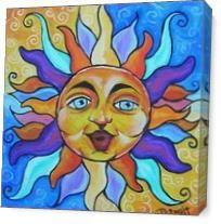 Seasonal Sun As Canvas
