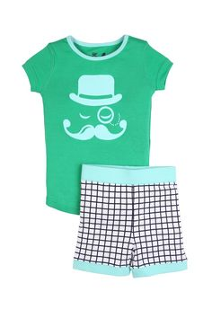 boys s/s monocle man pj | Cotton On