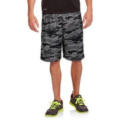 Russell Big Men's Interlock Shorts, Size: 4XL, Silver