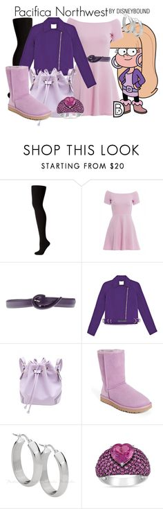 """""""Pacifica Northwest"""" by leslieakay ❤ liked on Polyvore featuring Pacifica, Hue, AX Paris, Orciani, Opening Ceremony, UGG Australia, Miadora, disney, disneybound and disneycharacter"""