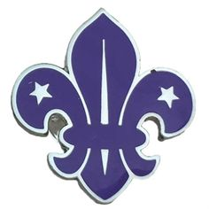 Scouts Fleur de Lis Pin Badge only by Scout Shops - 100% Profits back to UK Scouting