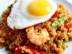 Quinoa Nasi Goreng- a gorgeous and light version of the classic! Gluten Free & Dairy Free.