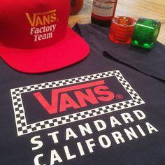いよいよ本日18時からスタートです #standardcalifornia #スタンダードカリフォルニア #nightmarket #vans #offthewall