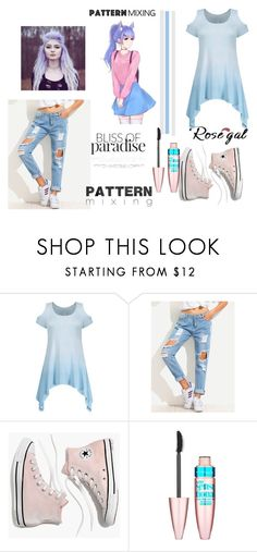 """""""Rosegal 7"""" by selma-masic1 ❤ liked on Polyvore featuring Madewell and Maybelline"""