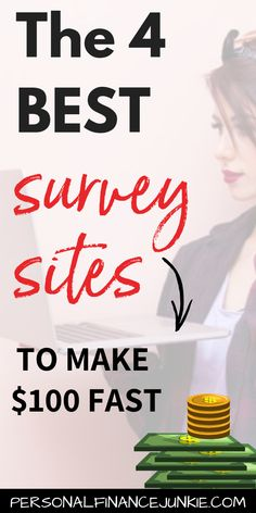 The 4 best paid survey sites for cash, gift cards and rewards. Survey Junkie, Swagbucks, MyPoints and Inbox Dollars are among the highest paying survey sites. Read to learn how to get money just for signing up. Best Paid Online Surveys, Best Online Survey Sites, Survey Sites That Pay, Paid Surveys, Earn More Money, Earn Money From Home, Earn Money Online, Way To Make Money, Cash Money