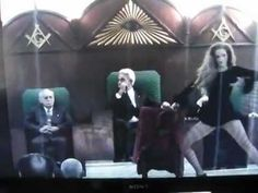 ILLUMINATI LEAKED FOOTAGE FROM A SECRET RITUAL  http://youtu.be/QOJ9Tfa9UV0 via @YouTube You'll notice this is occurring in a Masonic lodge (if you can take your eyes off the woman). Can anyone identify any of these men? This is NOT a Christian Org. & provides a front for nefarious activity.