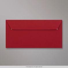 110x220 mm (DL) Tmavo-červená obálka Clariana