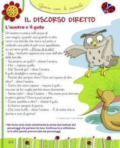 Sussidiario di lettura per la classe 2 ed. piccoli Italian Lessons, Italian Language, Learning Italian, Primary School, Montessori, Author, Teaching, Books, Languages