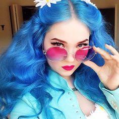 Posts you've liked   Websta (Webstagram)doedeere Yes, it's true! My blue hair is…