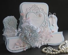 tattered lace melded heart background - Google Search