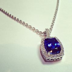 Nothing but the best for Mimi...  Platinum, Diamonds and Tanzanite.