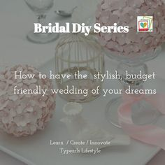 Briday Diy series: Learn how plan a Stylish Budget friendly Nigerian wedding by attending these workshops   2017 is the Year of Less But Better!  This year am conducting a series of Bridal Diy Series to produce lovelier healthier and perfect brides in 2017. Each month a one day lecture will be held to motivate enlighten and teach on different Bridal Diys (Do it yourself activities) to have the budget friendly stylish weddings that have been the desires of many.  From making captivating…