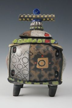 Pot Belly Box series - Daniel Oliver Ceramics