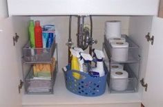 How to organize my bathroom cabinets by Juxtapost