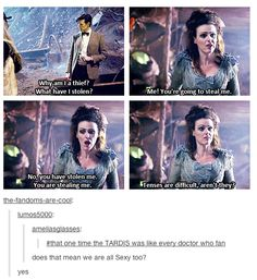 That one time the TARDIS was like every Doctor Who fan....