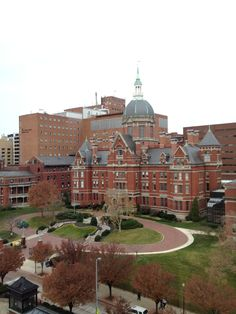 Johns Hopkins Hospital, Baltimore, MD -   A beautiful old building and one of the best hospitals in the world.