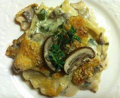 Vegan Mushroom Lasagna