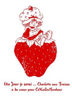 Partenariat avec Charlotte aux Fraises... Partnership with Strawberry shortcake