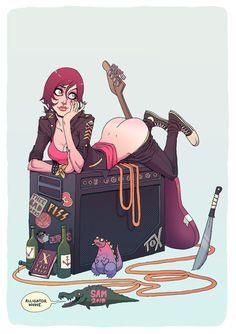 Girls with Guitars by Sam McKenzie