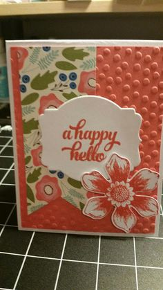 Stamp with Roberta: A happy hello-Tin of cards