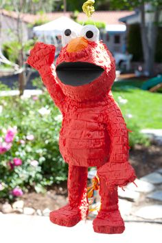 to play the voice of elmo on sesame street (im not that good yet)