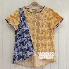 B010606 - IDR210.000 Bustline : 96,98cm Fabric: Batik Cap Garut