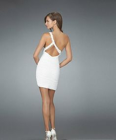Rehearsal dinner or engagement party dress. So cute!
