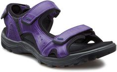 Ecco Offroad Lite - Take the Ecco Offroad Lite for a summer walk or a hike through the trails and it will stand up to the test. Providing unparalled support and comfort, these shoes will keep you on your feet. Scandinavian Fashion, Unique Shoes, Offroad, Me Too Shoes, Walking, Purple, Lady, Iris, How To Wear
