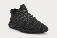 """Yeezy Boost 350 """"Black"""" Officially Announced by adidas Originals"""