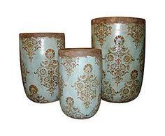 Set di 3 vasi in terracotta - CASPO'