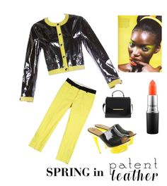 """Spring"" by kotnourka ❤ liked on Polyvore featuring Sportmax, Giuseppe Zanotti, MAC Cosmetics and Ted Baker"
