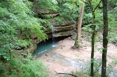 River Styx Spring  - .5 mile trail. Close enough to self tour. Can't tell exactly how far.