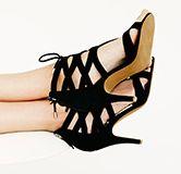 Steven Gingir Lace Up Sandals