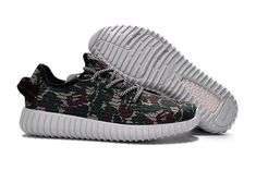 81e80ca9c4c 2018 Where To Buy adidas Yeezy 350 Boost Camo Midnight Navy Green Shoe Navy  And Green