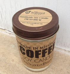 Etsy Transaction - Coffee Scented Soy Candles - Coffee Candles - Soy Candles
