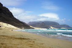 www.kaapverdie.nl - Het strand 'Praia Grande do Calhau', Sao Vicente, Kaapverdie, Cape Verde