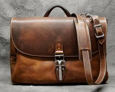 d4afed951a1 Handcrafted custom brown leather messenger bag inspired by the beautiful  colors of the Brownstones in Soho