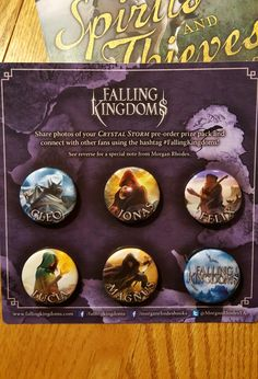 Prize for pre-ordering the 5th book in the #FallingKingdoms series by Morgan Rhodes. Love the artwork! Can't wait for book 6!! Dec.2017!!