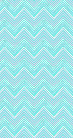 Aqua blue pink chevron iphone wallpaper phone background lock screen